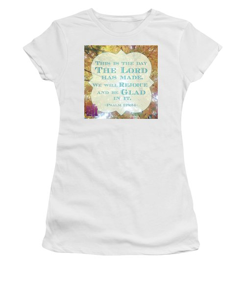 Give Thanks To The Lord, For He Is Women's T-Shirt