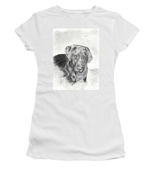Women's T-Shirt (Junior Cut) featuring the drawing Gozar by Mayhem Mediums