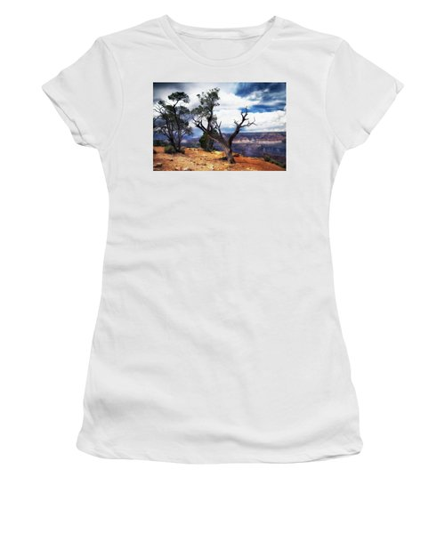 Women's T-Shirt (Junior Cut) featuring the photograph Grand Canyon by James Bethanis