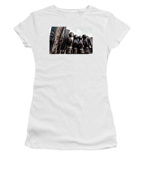 Hammer Heads  Women's T-Shirt (Junior Cut) by Wilma Birdwell