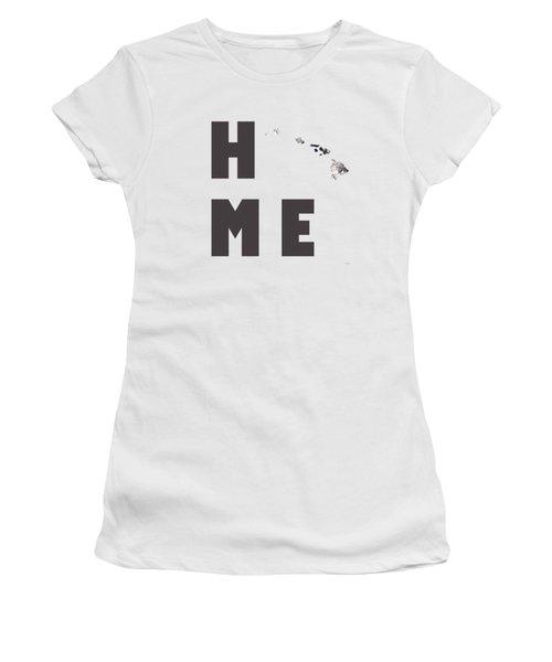 Hawaii State Map Women's T-Shirt