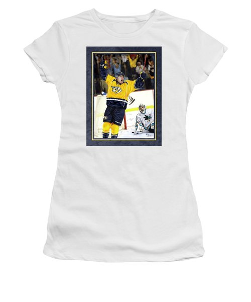 He Shoots He Scores Women's T-Shirt (Athletic Fit)