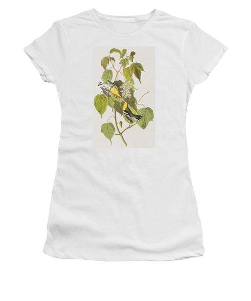 Hemlock Warbler Women's T-Shirt (Athletic Fit)