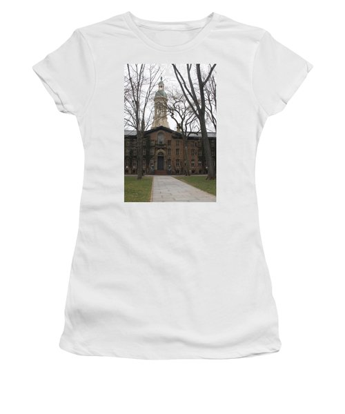 Women's T-Shirt (Junior Cut) featuring the photograph Historic Princeton by Vadim Levin
