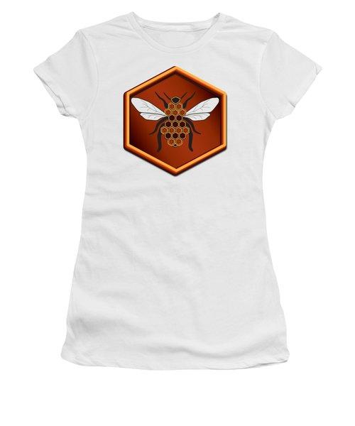 Honeycomb Bee Women's T-Shirt