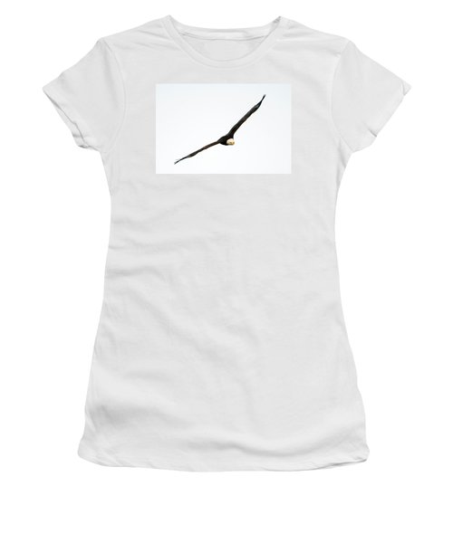 Women's T-Shirt (Junior Cut) featuring the photograph Intense Stare by Mike Dawson