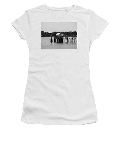 Jonesport, Maine Women's T-Shirt (Athletic Fit)