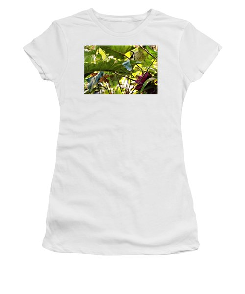 Women's T-Shirt (Junior Cut) featuring the photograph Jungle Jive by Mindy Newman