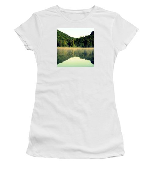 Lake Women's T-Shirt (Junior Cut) by France Laliberte