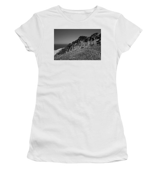 Lands End In San Francisco Women's T-Shirt