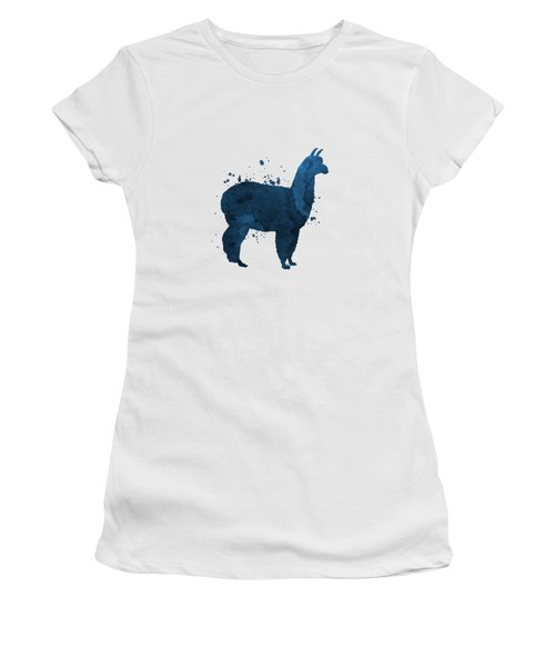 Llama Women's T-Shirt (Athletic Fit)