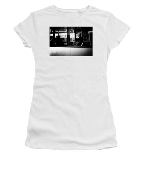 Women's T-Shirt (Athletic Fit) featuring the photograph Lost In Thought by John Williams