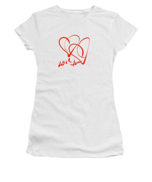 Love You Women's T-Shirt