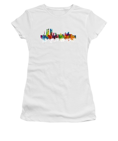 Madrid Spain Skyline Women's T-Shirt