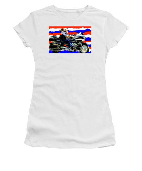 Mead In America Women's T-Shirt (Junior Cut) by Michael Nowotny