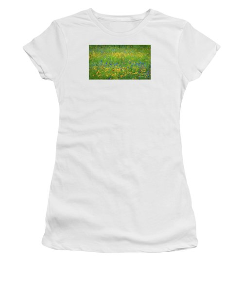 Mixed Wildflowers In Texas 538 Women's T-Shirt