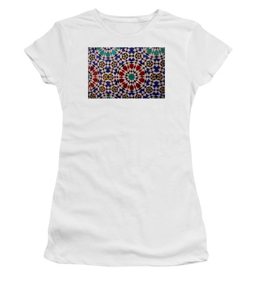 Mosaic Women's T-Shirt (Athletic Fit)