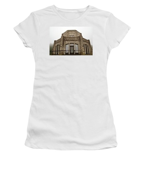 Vista House, Columbia River Gorge, Or. Women's T-Shirt (Athletic Fit)