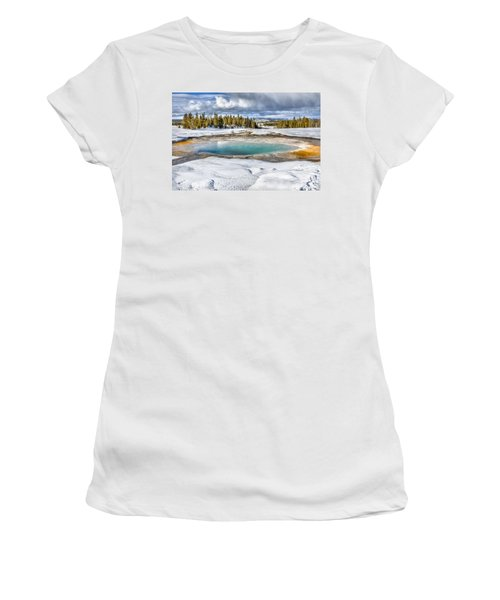 Nature's Painting Women's T-Shirt (Junior Cut) by Yeates Photography