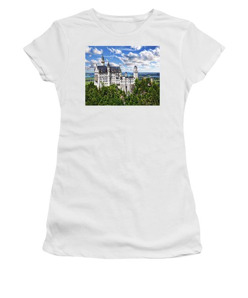 Neuschwanstein Castle Women's T-Shirt
