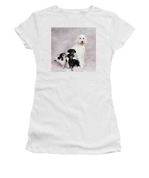 Fur Friends Women's T-Shirt (Athletic Fit)