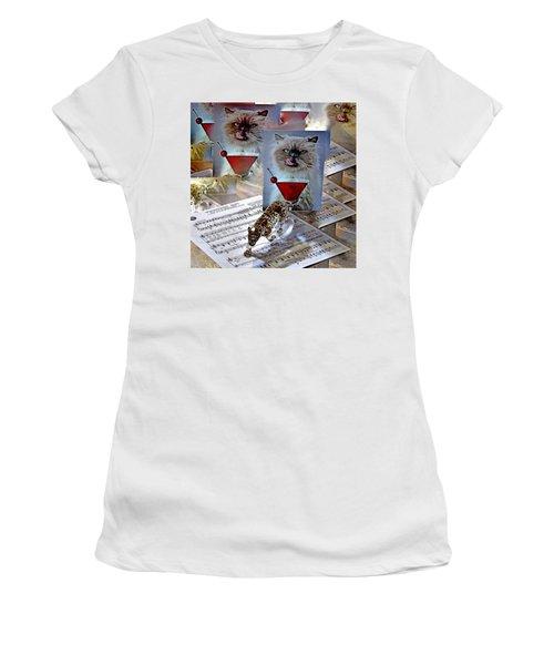 New Upload Women's T-Shirt (Junior Cut) by Phyllis Kaltenbach