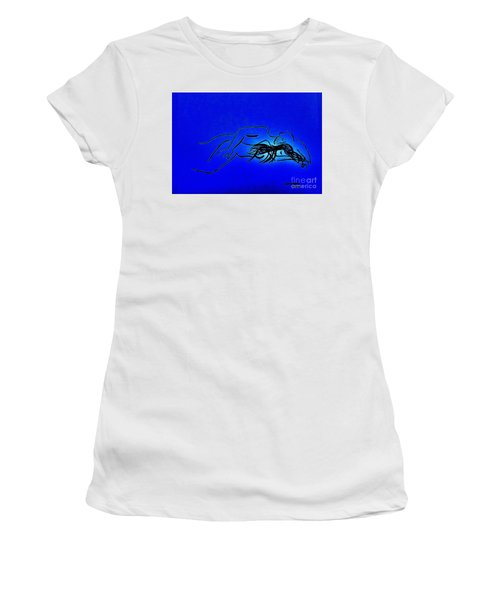 Nude Sleeping Couple  Women's T-Shirt (Athletic Fit)