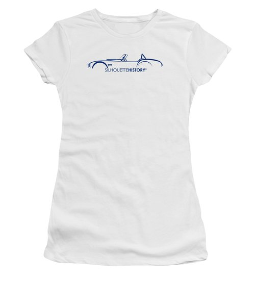 Old Snake Silhouettehistory Women's T-Shirt (Athletic Fit)