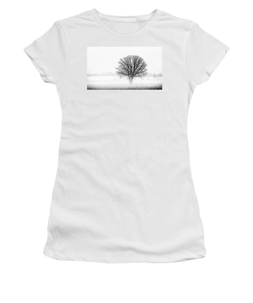 Women's T-Shirt (Junior Cut) featuring the photograph One... by Nina Stavlund