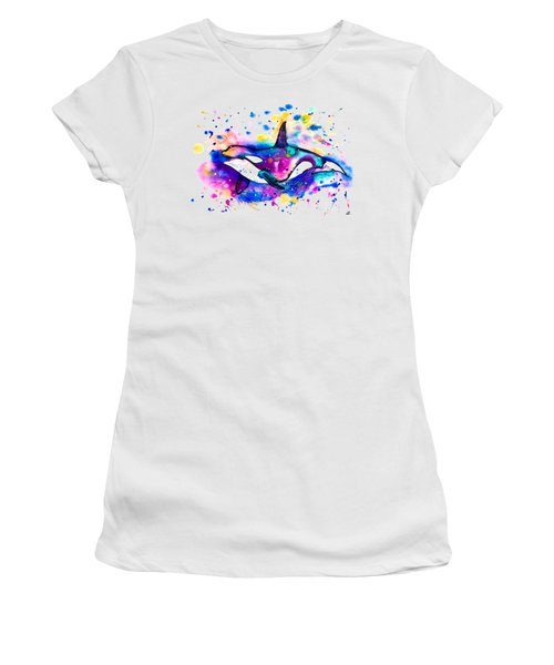 Orca Women's T-Shirt (Athletic Fit)