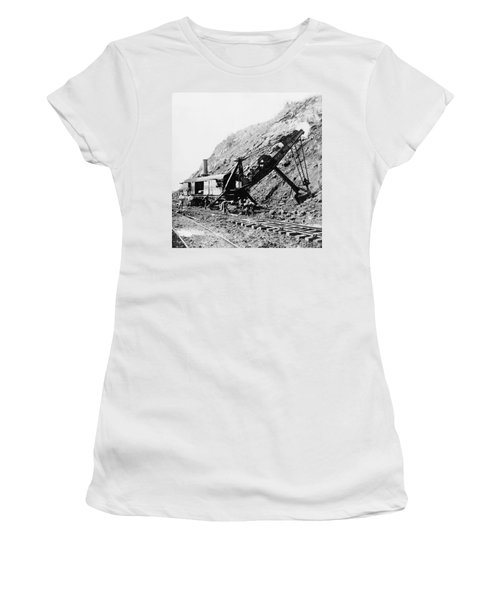 Panama Canal - Construction - C 1910 Women's T-Shirt (Athletic Fit)