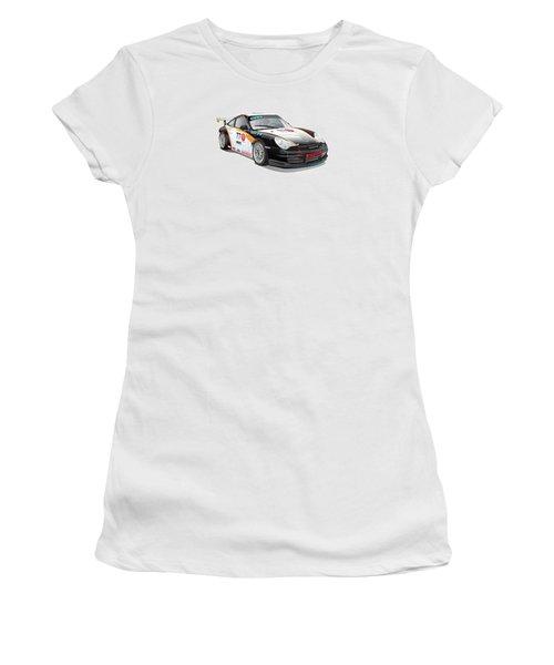 Porsche 996 Gt3 Cup Women's T-Shirt (Athletic Fit)