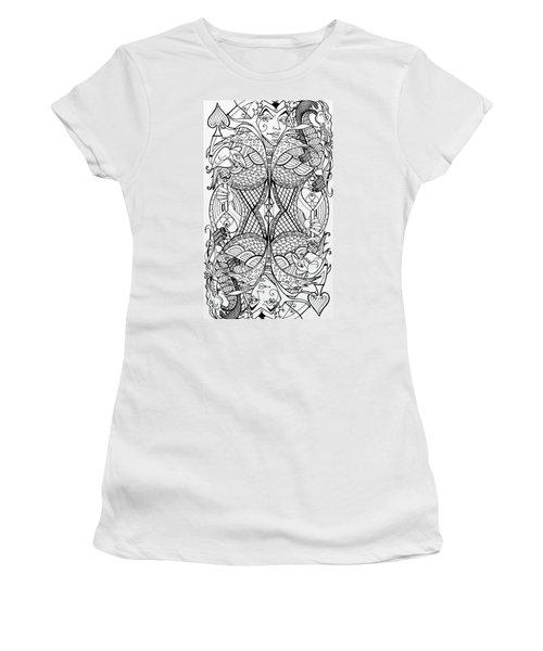 Queen Of Spades 2 Women's T-Shirt