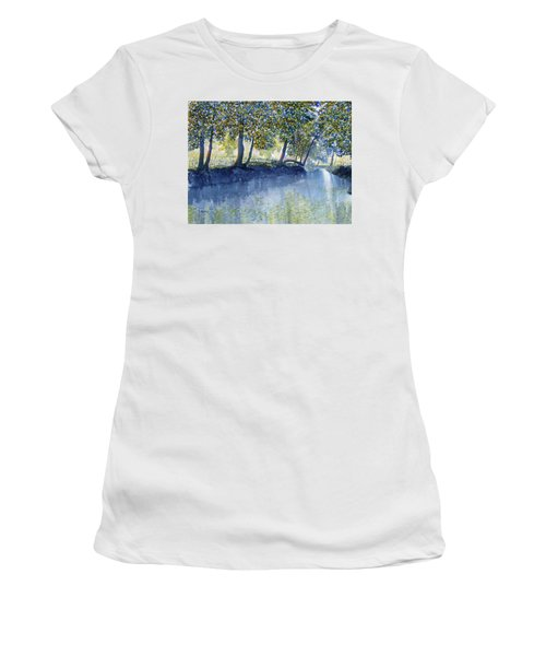 Ripples And Reflections Women's T-Shirt