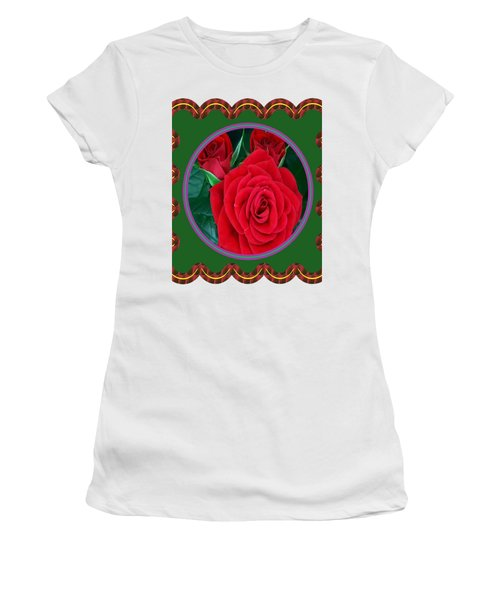 Rose Flower Floral Posters Photography And Graphic Fusion Art Navinjoshi Fineartamerica Pixels Women's T-Shirt