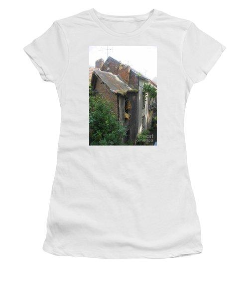 Seen Better Days Women's T-Shirt (Junior Cut) by Therese Alcorn