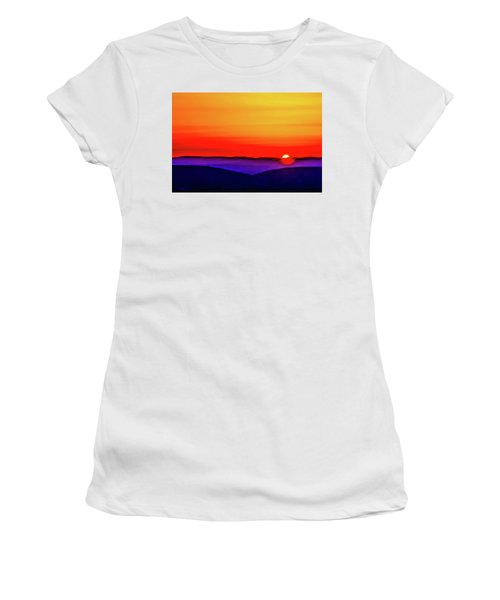 Shenandoah Valley Sunset Women's T-Shirt