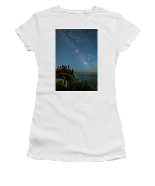 Women's T-Shirt featuring the photograph Sky Light by Doug Gibbons