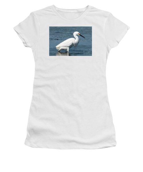 Snowy White Egret Women's T-Shirt