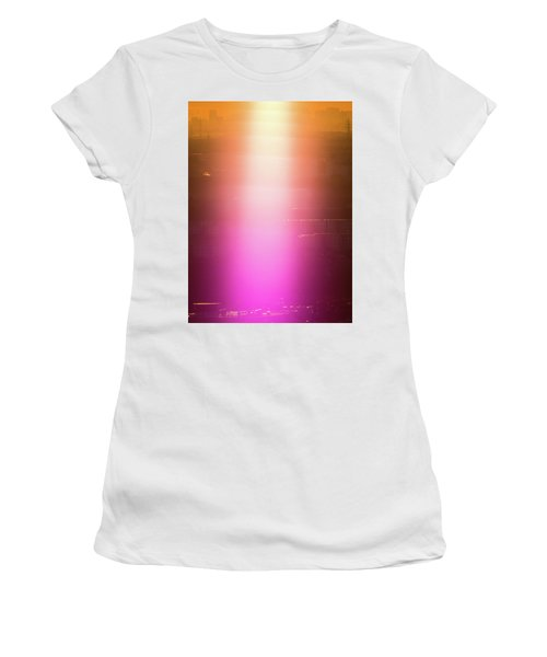 Women's T-Shirt (Athletic Fit) featuring the photograph Spiritual Light by Tatsuya Atarashi