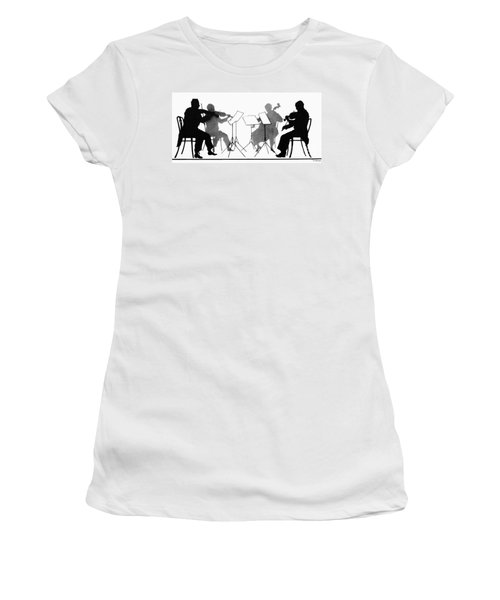 String Quartet, C1935 Women's T-Shirt (Athletic Fit)