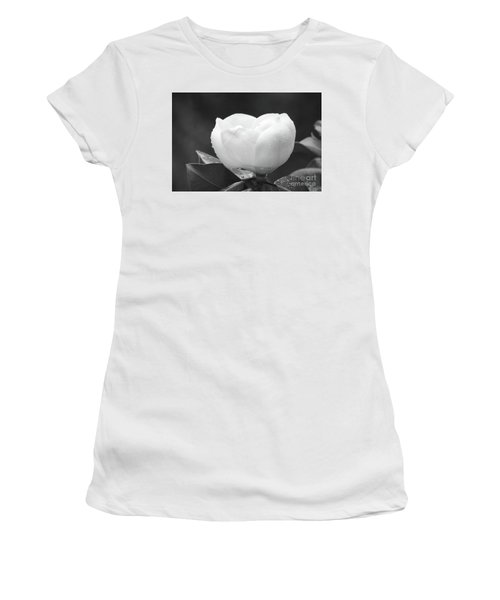 Study In Black And White Women's T-Shirt (Athletic Fit)