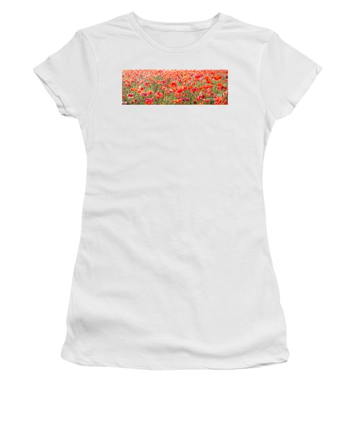 Summer Poetry Women's T-Shirt (Athletic Fit)