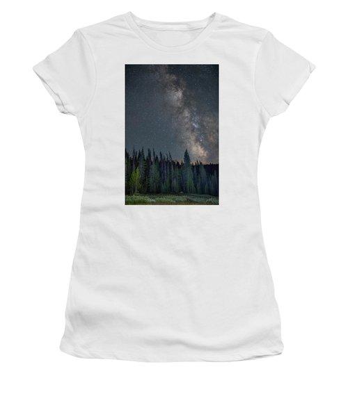 Women's T-Shirt featuring the photograph Summer Splendor by D Robert Franz