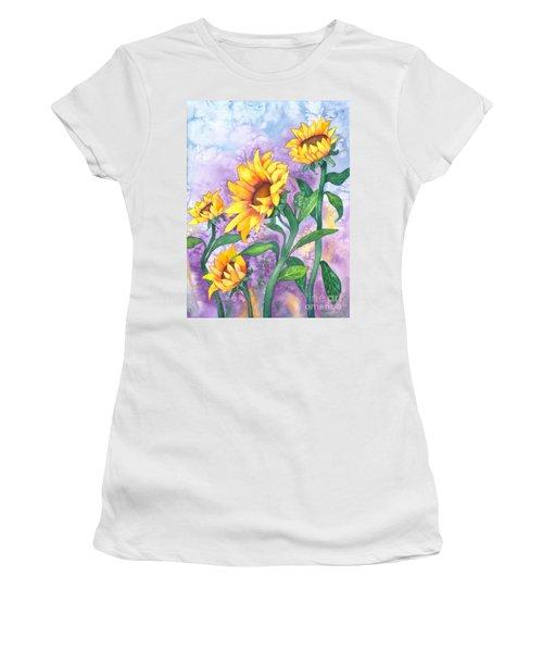 Sunny Sunflowers Women's T-Shirt
