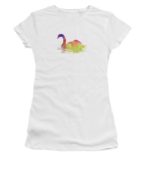 Swan Women's T-Shirt (Junior Cut)