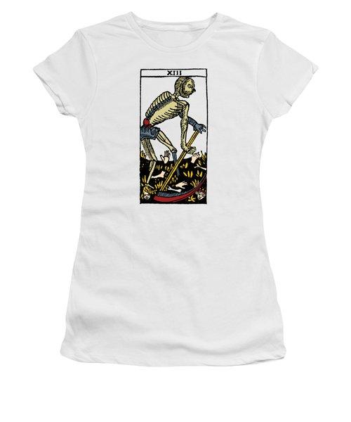 Tarot Card Death Women's T-Shirt