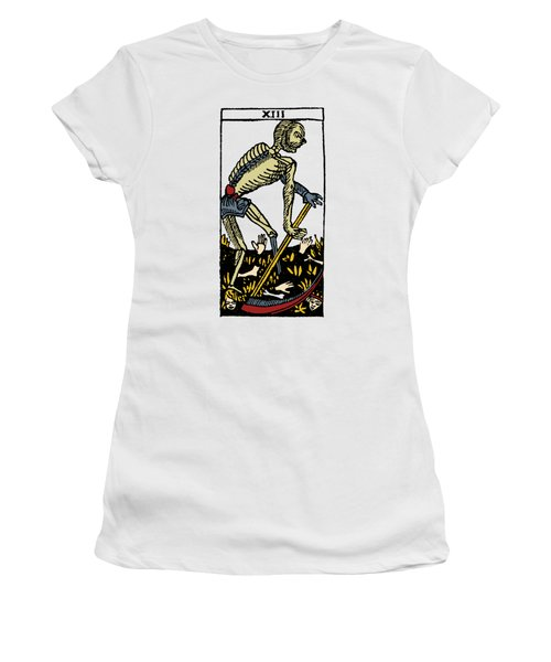Tarot Card Death Women's T-Shirt