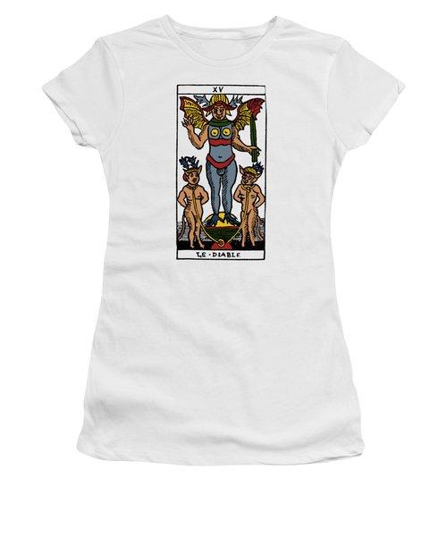 Tarot Card The Devil Women's T-Shirt