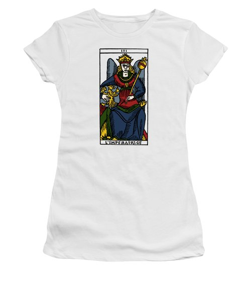 Tarot Card The Empress Women's T-Shirt (Junior Cut) by Granger